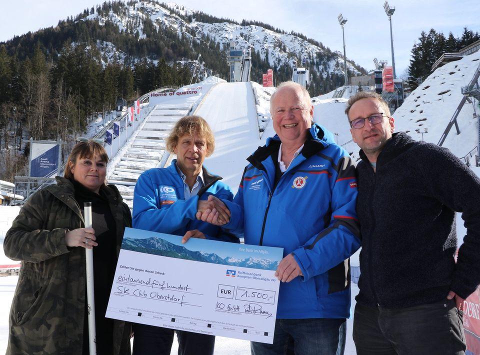 ICO ImpulseConsult Spendenaktion Skiclub Oberstdorf
