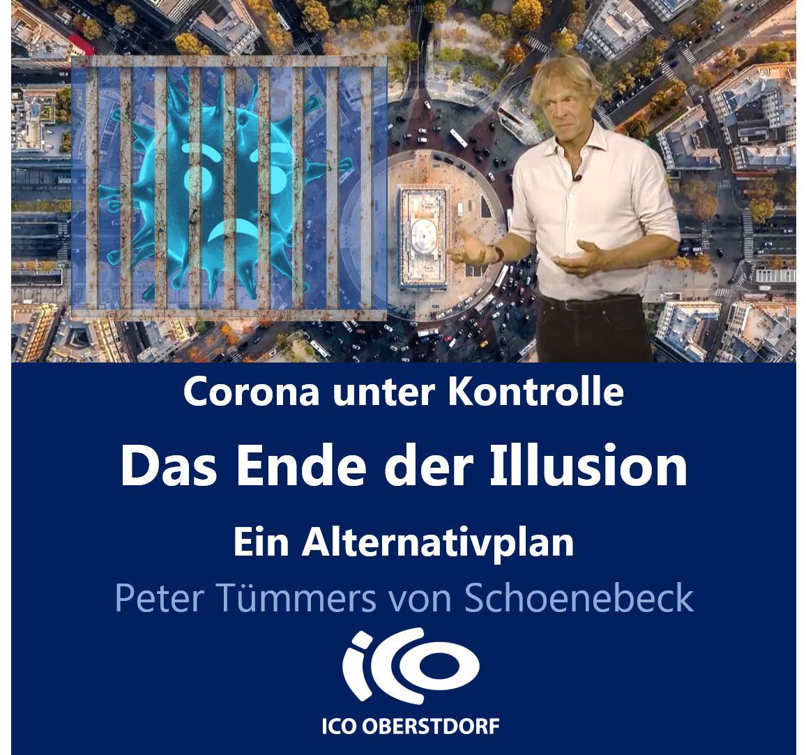 Peter Tümmers analysiert bisherige Corona-Strategie aus soziologischer Sicht und stellt Alternativplan vor