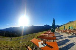 Ifenhütte - Ausblick von der Terrasse