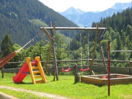 Alpe Bolgen mit Spielplatz
