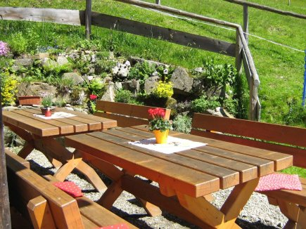 Alpe Bolgen Sitzbänke