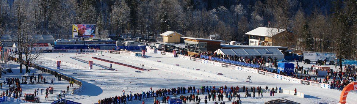 Das Langlaufstadion im Ried