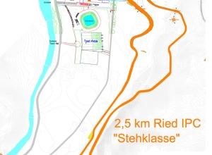Streckenplan 2.5 km