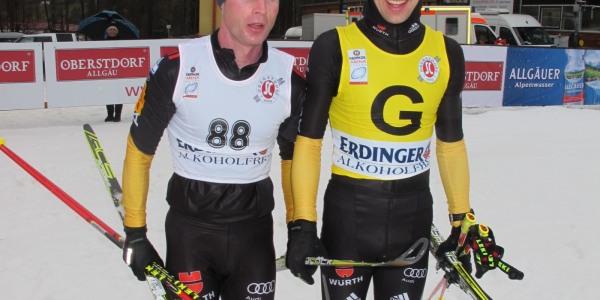 Wilhelm Brem und Guide Florian Grimm