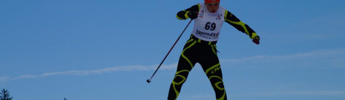 Iryna Bui beim Sprint-Wettkampf