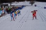 Zieleinlauf Sprint Männer Blindenklasse