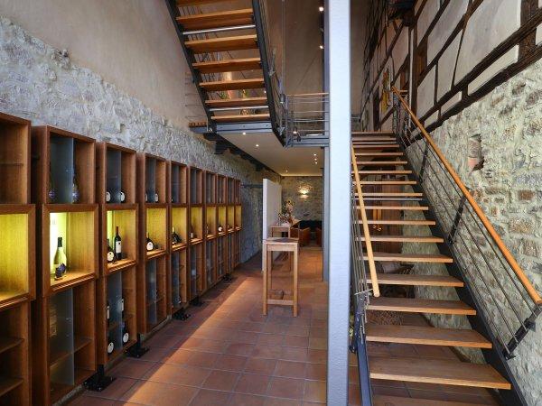 Weinarchitektur in der Vinothek