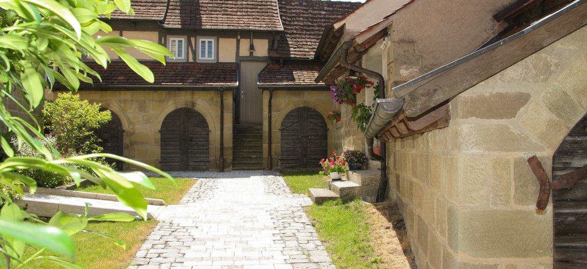 Kirchenburg Nenzenheim - Fotograf: Jürgen Langhammer