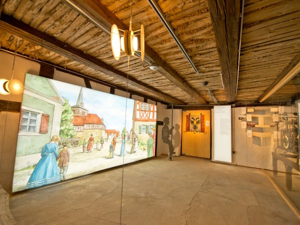 Ausstellung im Kirchenburgmuseum