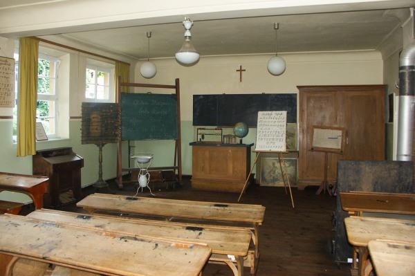 ehemaliges Klassenzimmer