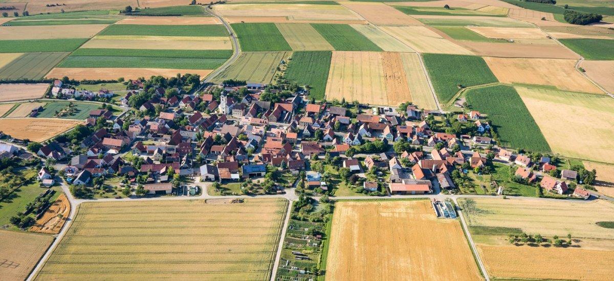 Dornheim---Luftbild