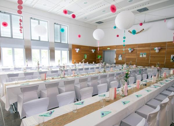 Hochzeitsfeier in der Karl-Knauf-Halle