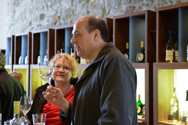 Fachmännische Weinverkostung