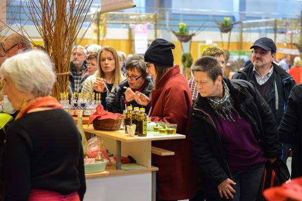 Besucher auf der Feinschmeckermesse
