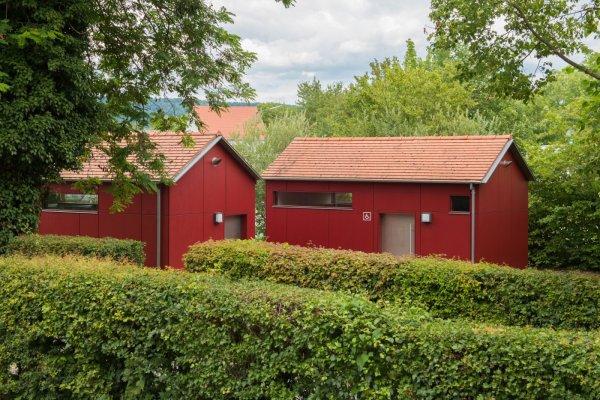 Toilettenanlage am Wohnmobilstellplatz Einersheimer Tor