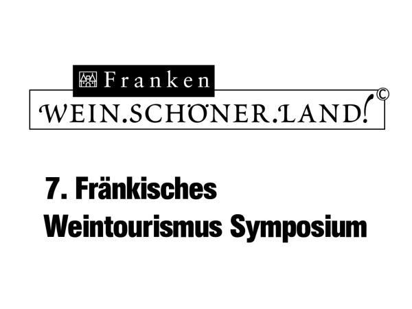 Logo 7. Fränkisches Weintourismus Symposium