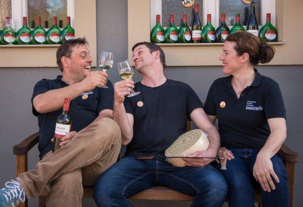 Weingut Bausewein mit Weinfreund und Käsemacher Tobias Breit