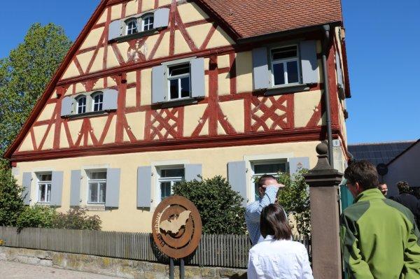 Fledermausführung am Flatterhaus Hellmitzheim