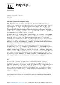 Farbenfrohe Lebensfreude: Guggenmusik in Isny