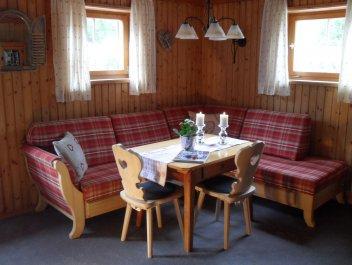Murmelesbau Wohnküche