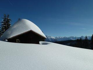 Schnee auf der Hütt'n