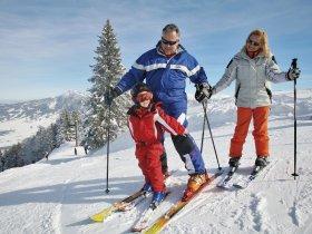 Ski alpin Familie