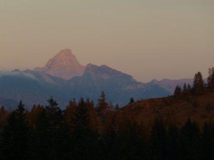 Abendstimmung Allgäuer Alpen