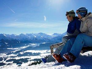 Genuss Skifahren im Allgäu