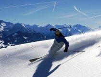 Skifahren mit Aussicht in Bolsterlang
