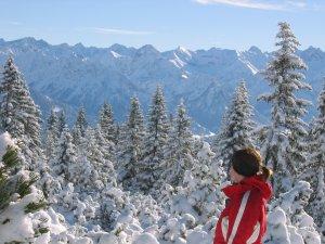 Aussicht und Wintergenuss