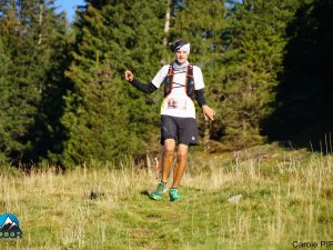 Downhill beim Humani Trail