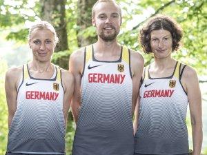Zum ersten Mal das Deutsche Trikot tragen