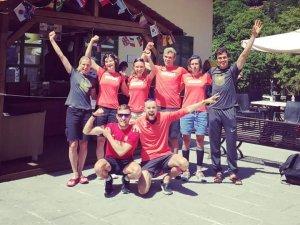 Die Auswahl bei der WM 2017