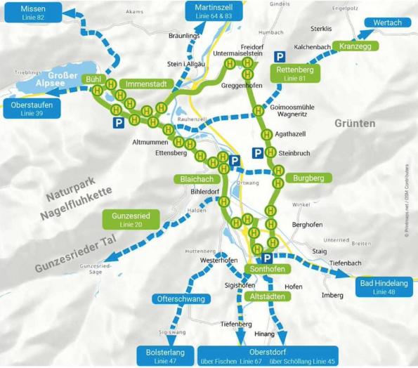 Kostenlose Bus & Bahn im Oberallgäu
