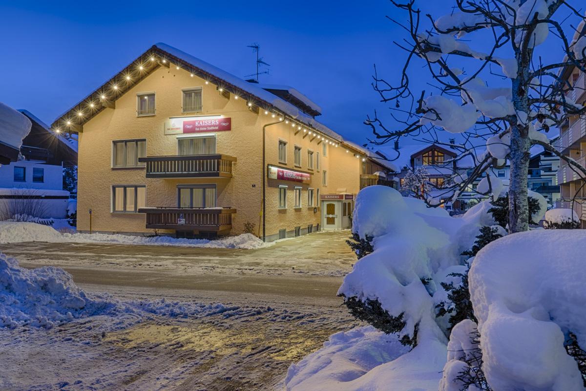 Kaisers das kleine stadthotel in sonthofen for Hotel in sonthofen und umgebung