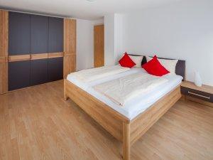 Ferienwohnung Sonthofen Schlafzimmer