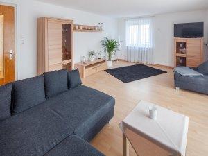 Ferienwohnung Sonthofen Wohnzimmer