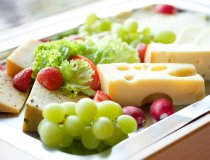 Verschiedene Käsesorten aus Allgäuer Bergbauern Milch