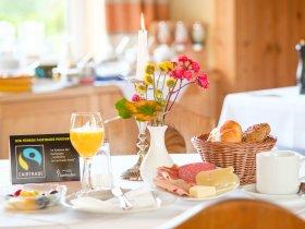 Frühstück im Hotel Kaisers Sonthofen