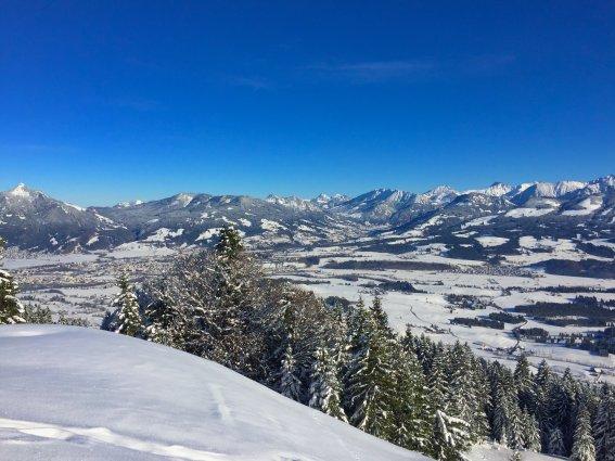 Sonthofen im Winter