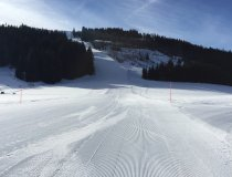 Skiabfahrt nach Gunzesried
