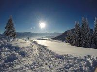 Skifahren in Ofterschwang