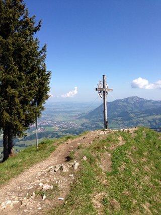 Gipfelkreuz am Sonnenkopf
