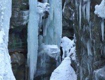 Eis in der Breitachklamm