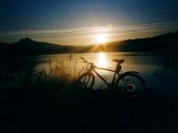 Sonnenaufgang am Grüntensee