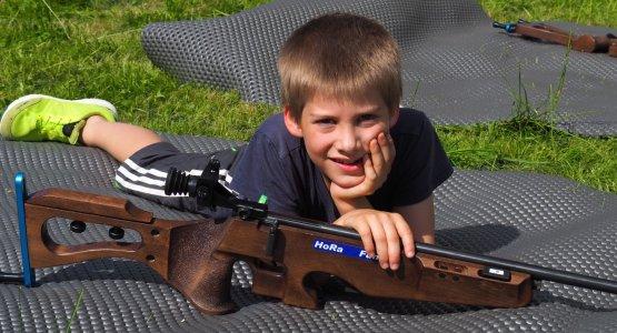 Laser-Biathlon Kinder