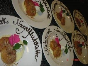 Dessertkreationen