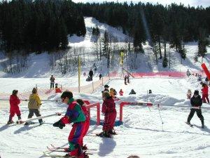 Skikarusell für die Kleinen