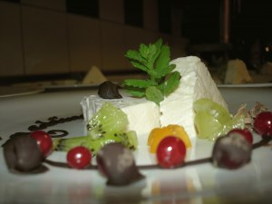 Sündhaft leckeres Dessert ...