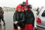 Silvia und Stefanie - bereit für den großen Auftritt